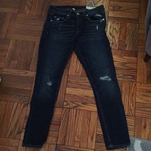 Rag and Bone Capri Jeans
